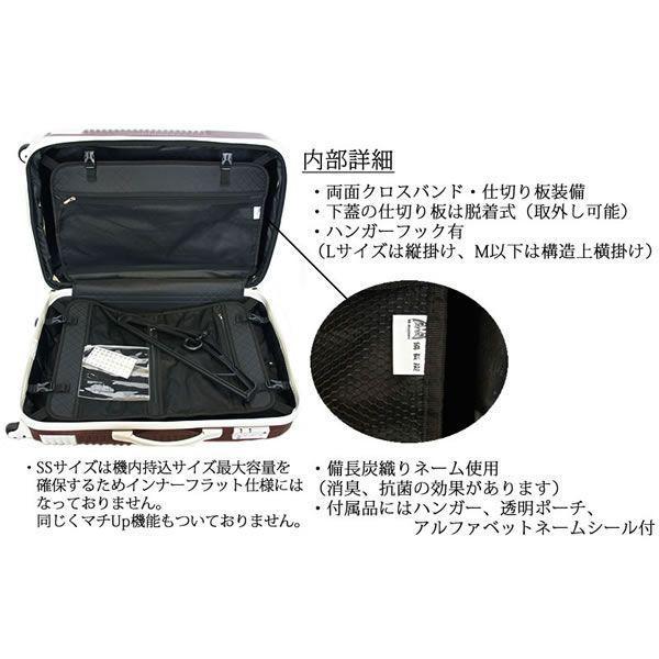 スーツケース 機内持込み 小型 超軽量 キャリーケース キャリーバッグ  日乃本錠前 グリスパック TSA bbmonsters 05