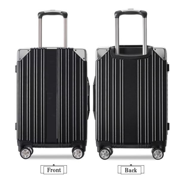 スーツケース キャリーバッグ Mサイズ 中型 軽量 大容量 ハード ケース ダイヤル|bbmonsters|13