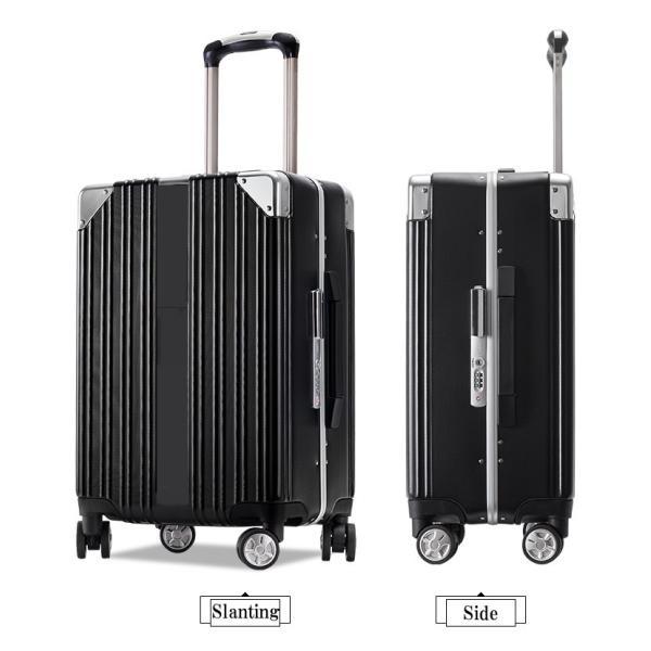スーツケース キャリーバッグ Mサイズ 中型 軽量 大容量 ハード ケース ダイヤル|bbmonsters|14