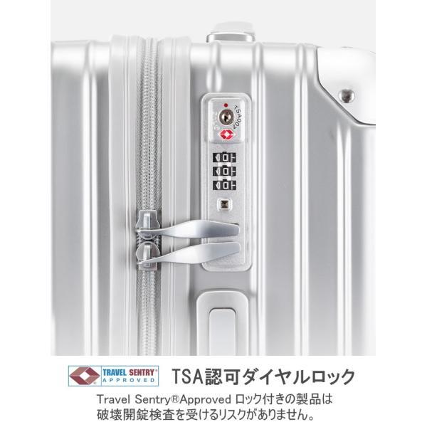 スーツケース Lサイズ 大型 軽量 キャリーケース キャリーバッグ ファスナー TSAロック 大容量 旅行用品 ポリカーボネート bbmonsters 09