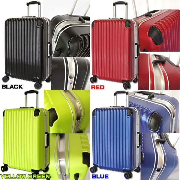 スーツケース 中型 軽量 キャリーケース キャリーバッグ アルミフレーム TSAロック 4泊〜7泊 Mサイズ|bbmonsters|02
