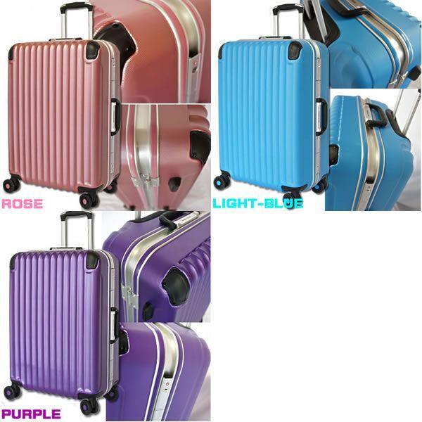 スーツケース 中型 軽量 キャリーケース キャリーバッグ アルミフレーム TSAロック 4泊〜7泊 Mサイズ|bbmonsters|03