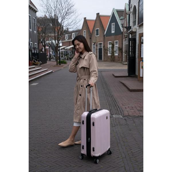 スーツケース Mサイズ 中型 軽量 旅行用品 キャリーバッグ ハードケース ファスナー|bbmonsters|02