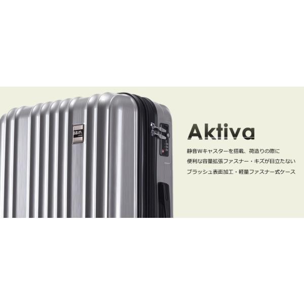 スーツケース Mサイズ 中型 軽量 旅行用品 キャリーバッグ ハードケース ファスナー|bbmonsters|04