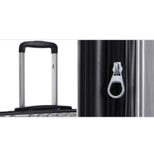 スーツケース Mサイズ 中型 軽量 旅行用品 キャリーバッグ ハードケース ファスナー|bbmonsters|09