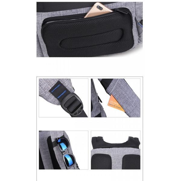 リュック バックパック リュックサック メンズ ビジネスリュック デイパック 旅行バッグ 大容量 USB ポート付 おしゃれ PCリュック|bbmonsters|18