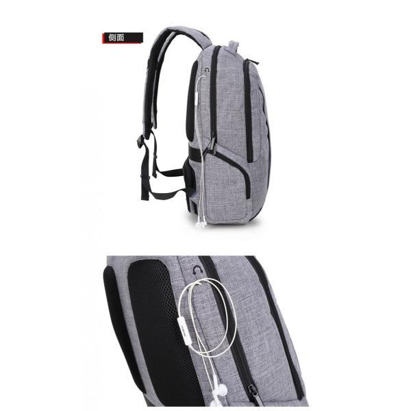 リュック バックパック リュックサック メンズ ビジネスリュック デイパック 旅行バッグ 大容量 USB ポート付 おしゃれ PCリュック|bbmonsters|19