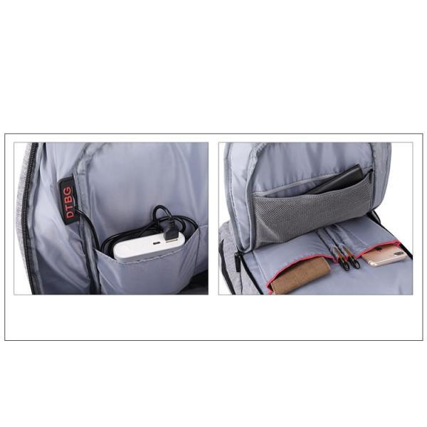 リュック バックパック リュックサック メンズ ビジネスリュック デイパック 旅行バッグ 大容量 USB ポート付 おしゃれ PCリュック|bbmonsters|21