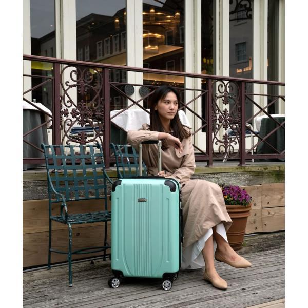 スーツケース 中型 軽量 キャリーバッグ ハードケース キャリーケース ファスナー TSA Mサイズ|bbmonsters|02