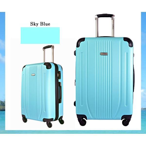 スーツケース Mサイズ 中型 軽量 旅行用品 キャリーバッグ ハードケース ファスナー TSA|bbmonsters|12