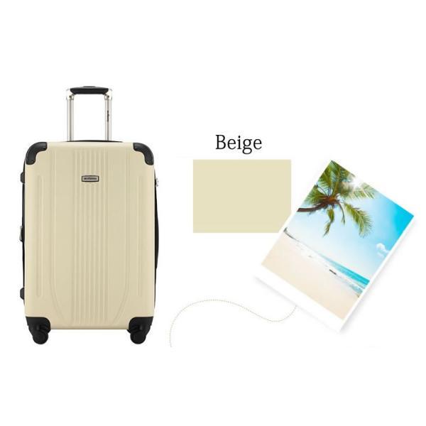 スーツケース Mサイズ 中型 軽量 旅行用品 キャリーバッグ ハードケース ファスナー TSA|bbmonsters|13