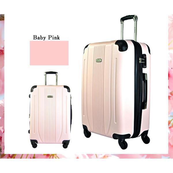 スーツケース Mサイズ 中型 軽量 旅行用品 キャリーバッグ ハードケース ファスナー TSA|bbmonsters|15