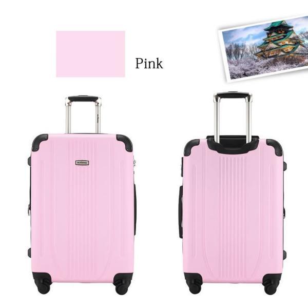 スーツケース 中型 軽量 キャリーバッグ ハードケース キャリーケース ファスナー TSA Mサイズ|bbmonsters|05