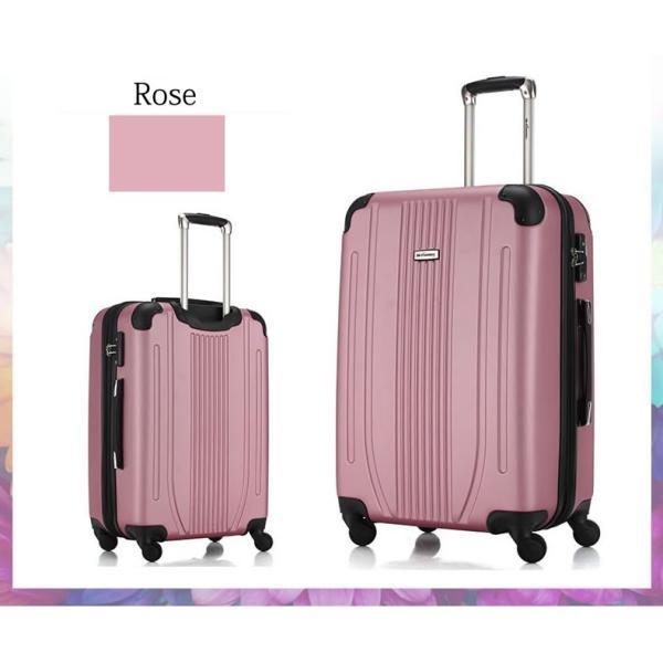 スーツケース 中型 軽量 キャリーバッグ ハードケース キャリーケース ファスナー TSA Mサイズ|bbmonsters|06