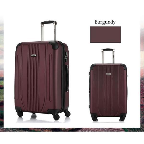 スーツケース Mサイズ 中型 軽量 旅行用品 キャリーバッグ ハードケース ファスナー TSA|bbmonsters|07