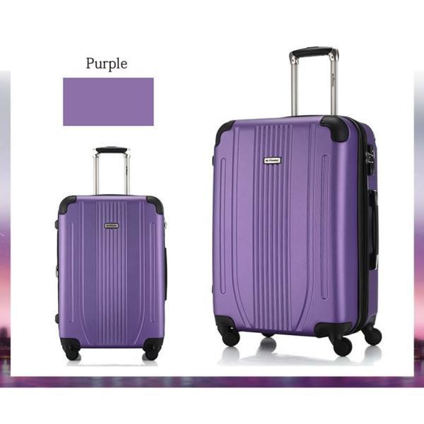 スーツケース Mサイズ 中型 軽量 旅行用品 キャリーバッグ ハードケース ファスナー TSA|bbmonsters|08