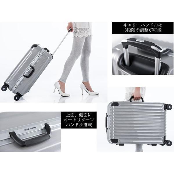 スーツケース 大型 キャリーケース キャリーバッグ アルミフレーム 深溝式 大容量|bbmonsters|03