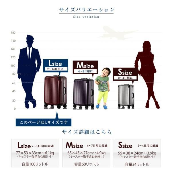 スーツケース 大型 キャリーケース キャリーバッグ アルミフレーム 深溝式 大容量|bbmonsters|06