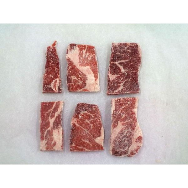 焼肉 カルビ 牛肉 三角バラ 1kg 冷凍 バラ凍結 自家製タレ付属 焼き肉 バーベキュー BBQ|bbq|05