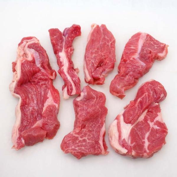 焼肉 ジンギスカン 羊肉 生ラム 500g 冷蔵チルド・真空パック 自家製タレ付属 (BBQ バーベキュー 焼き肉)|bbq|06