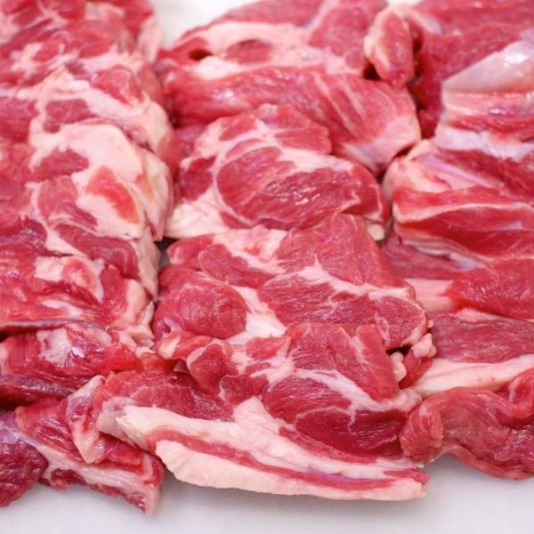 焼肉 ジンギスカン 羊肉 生ラム 200g 冷蔵チルド・真空パック 自家製タレ付属 (BBQ バーベキュー 焼き肉)|bbq|05