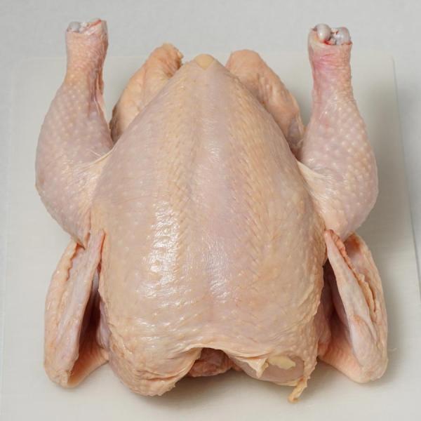 五穀味鶏 丸鶏 中抜き(内蔵なし骨付き丸鶏) 冷凍 真空パック ブロック (BBQ バーベキュー 焼き肉 焼肉) bbq 02