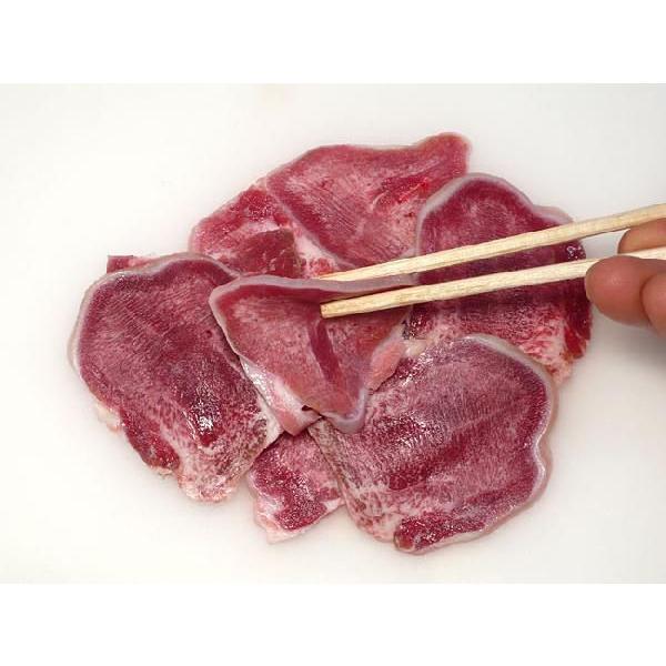 焼肉 国産 豚肉 たん(豚タン) 500g (BBQ バーベキュー 焼き肉)|bbq|03
