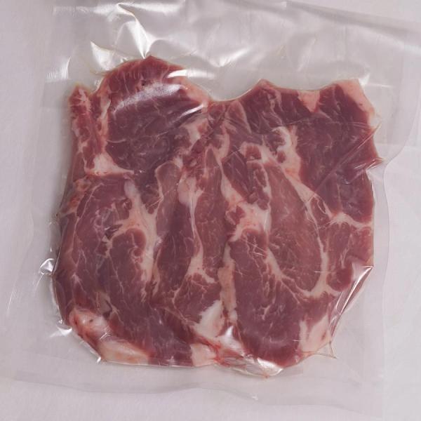 豚肉 セット 国産 (やまざきポーク青森県産) 豚ロース 豚肩ロース 豚バラ スライス 1kg(200g×5) 冷凍 (BBQ バーベキュー 焼き肉 焼肉)すき焼き|bbq|03