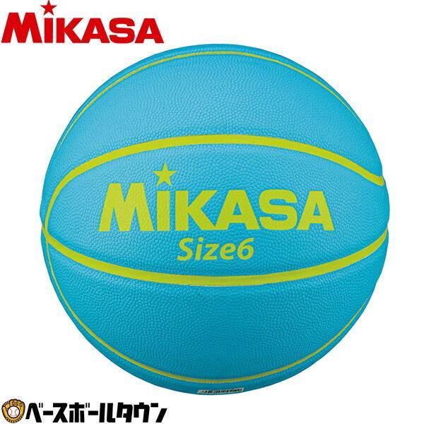 バスケット ボール ミカサ(mikasa) バスケットボール 6号球 カモ柄 ライトブルー b630y-mc-lb