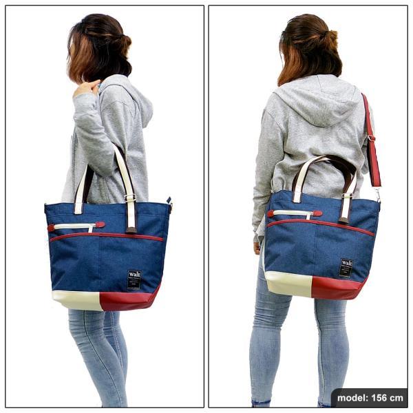 メンズ トートバッグ a4 トートバッグ 2way 通勤 通学 ビジネス バッグ レディース トートバッグ (walt) ウォルト|bclover|03