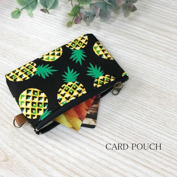 カードケースコインケース小銭入れギフトかわいいパイン