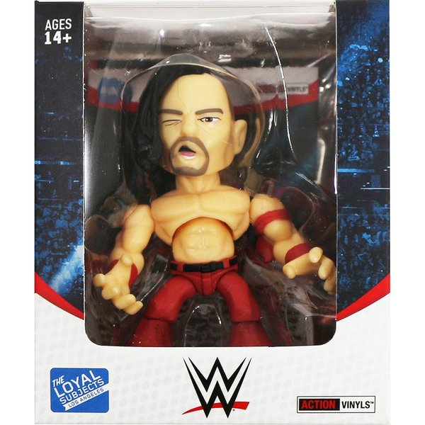 WWE Shinsuke Nakamura(中邑真輔) レッドver. Loyal Subjects Vinyl Figure|bdrop