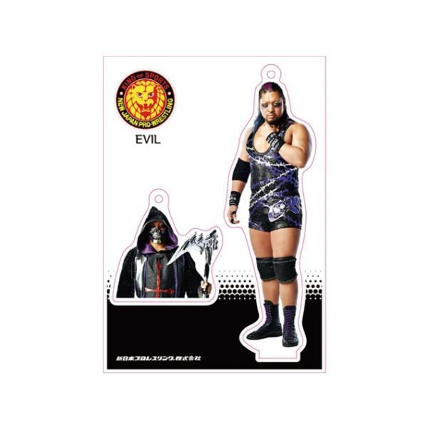 新日本プロレス NJPW フィギュアシートキーホルダー EVIL(2nd model)|bdrop
