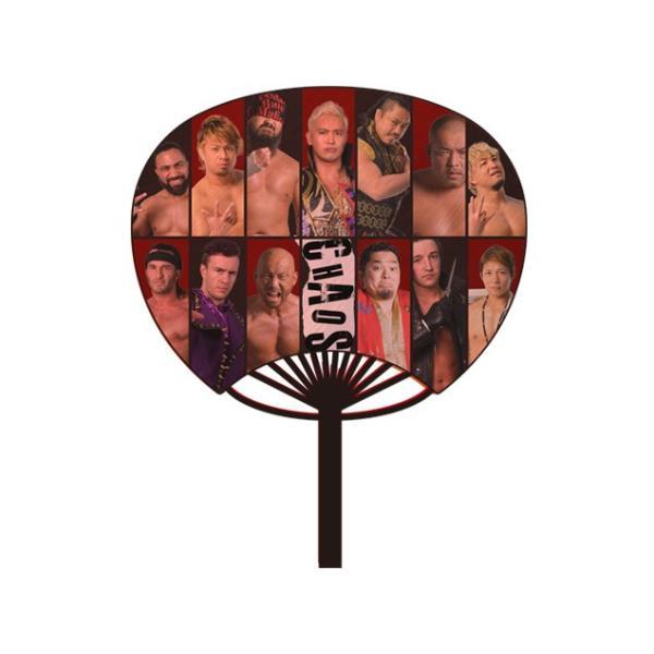 新日本プロレス/NJPW うちわ CHAOS (2018) bdrop 02