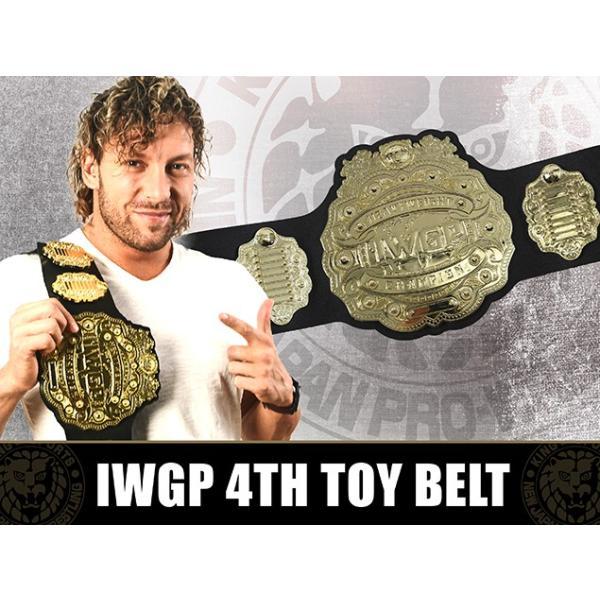 新日本プロレス NJPW 4代目IWGPヘビー級 プラスチックチャンピオンベルト(2018)|bdrop|04