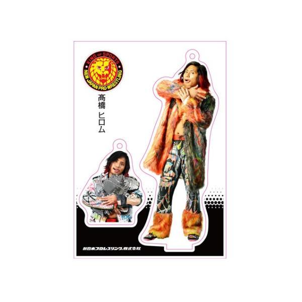 新日本プロレス NJPW フィギュアシートキーホルダー 高橋ヒロム(2nd model)|bdrop