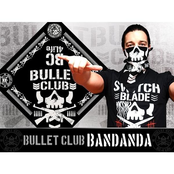 新日本プロレス NJPW BULLET CLUB(バレット・クラブ) '18 バンダナ|bdrop|02
