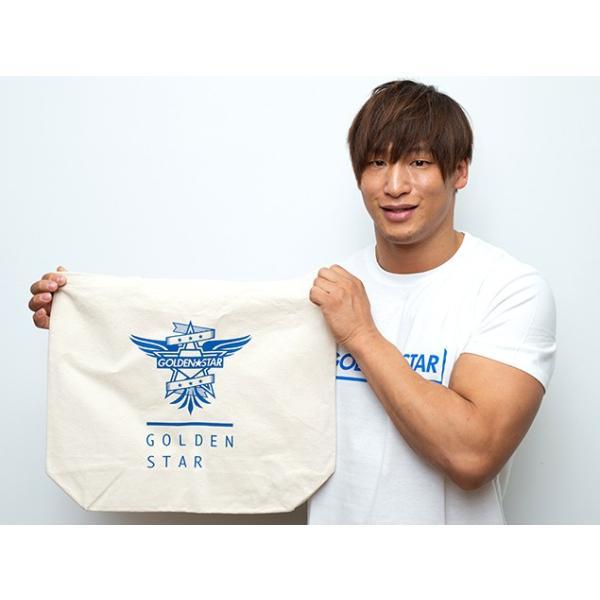 新日本プロレス NJPW 飯伏幸太「G☆S」ラージトートバッグ|bdrop|03