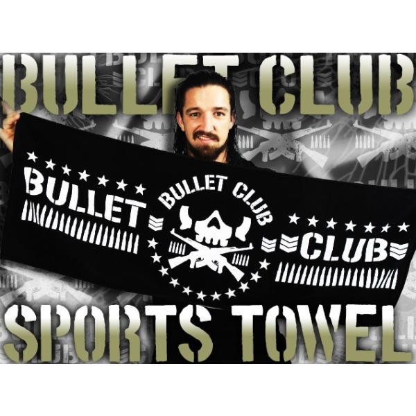 新日本プロレス NJPW BULLET CLUB(バレットクラブ) スポーツタオル|bdrop|02