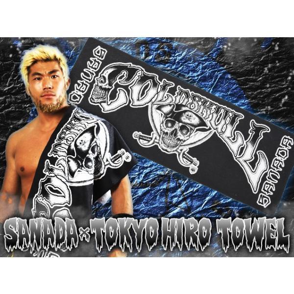新日本プロレス NJPW SANADA×TOKYO HIRO TOWEL bdrop 02
