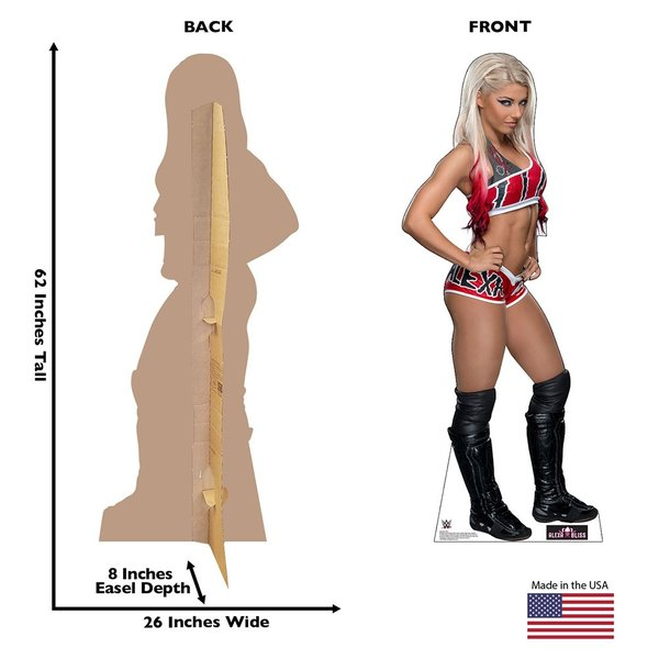 WWE Alexa Bliss(アレクサ・ブリス) カードボードパネル|bdrop|02