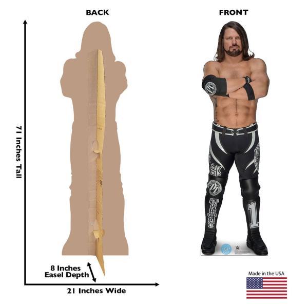 WWE AJ Styles(AJスタイルズ) カードボードパネル|bdrop|02