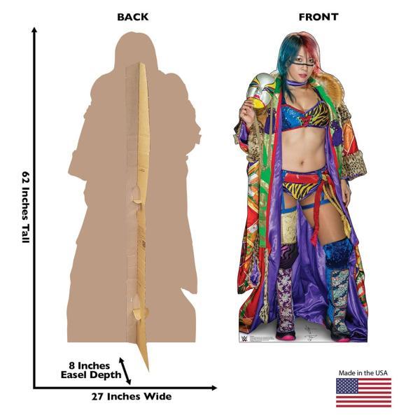 WWE Asuka(アスカ) カードボードパネル|bdrop|02