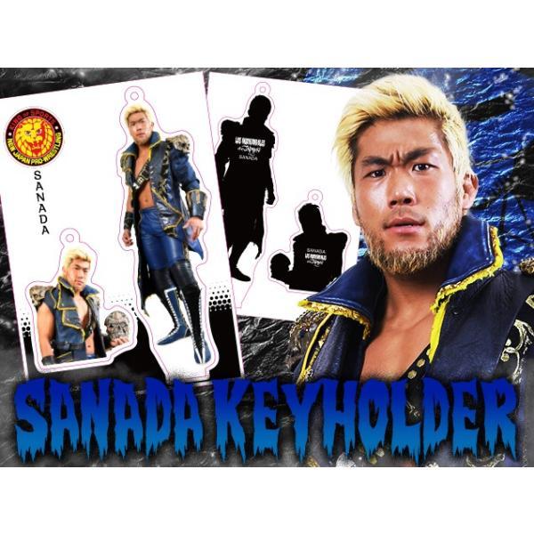 新日本プロレス NJPW フィギュアシートキーホルダー SANADA(3rd model)|bdrop|03