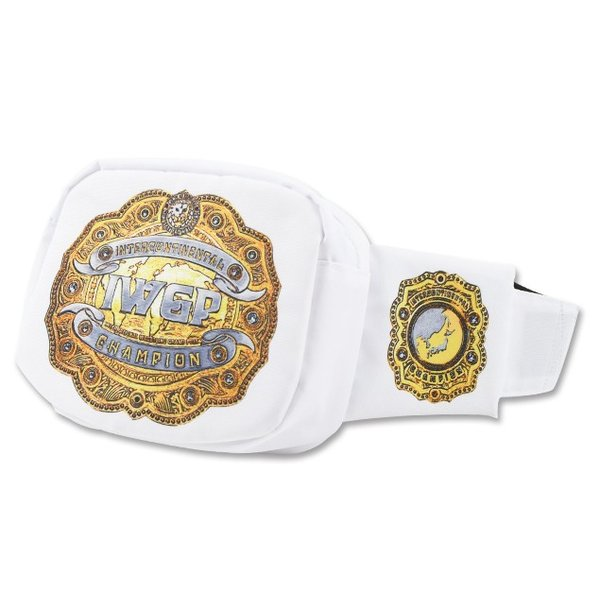 新日本プロレス NJPW IWGPインターコンチネンタルチャンピオンベルト ウエストバッグ|bdrop
