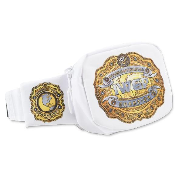 新日本プロレス NJPW IWGPインターコンチネンタルチャンピオンベルト ウエストバッグ|bdrop|02