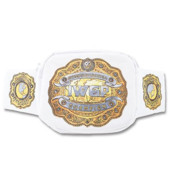 新日本プロレス NJPW IWGPインターコンチネンタルチャンピオンベルト ウエストバッグ|bdrop|03