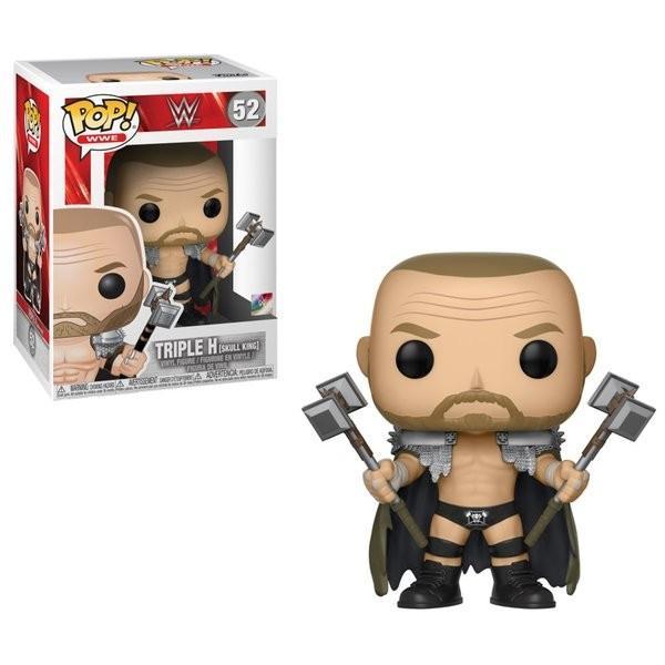 WWE Triple H(トリプルH) Skull King FUNKO/ファンコ POP VINYL ミニフィギュア|bdrop