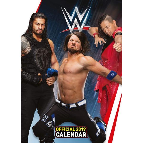 WWE Superstars Euro 2019年壁掛けカレンダー|bdrop