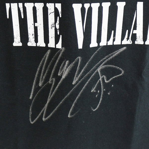 直筆サイン入り:マーティー・スカル Chibi Villain ブラックTシャツ|bdrop|02